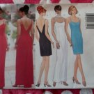 Butterick 5541 Fast & Easy Classics Pattern, Misses Evening Dress & Scarf, Plus Sz 18 20 22, UNCUT