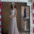 McCalls 9183 Alicyn Exclusives Pattern, Misses Dresses Bridal and Bridesmaid, Size 18, UNCUT