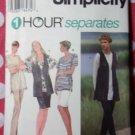 OOP Easy Simplicity 9367 Sewing Pattern, Misses Knit Top Skirt & Pants, Sz 18 20 22 24, UNCUT