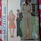 Vintage 1975 McCall's 4699 Pattern, Misses Shirt-Jacket Skirt Pants & Transfer, Sz 18, UNCUT