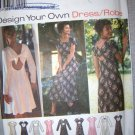 OOP Simplicity Design your own 9603 Pattern, Misses Dress, Size 18, 20, 22, Uncut