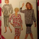 Vintage McCalls 5719 Pattern, Misses Top & Skirt, Sz 20 22 24, UNCUT