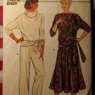 OOP Fast & Easy Butterick 6947 Pattern, Misses Top Skirt Pants, Sz 14 16 18, UNCUT