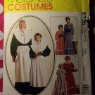 OOP McCall's 8335 Pattern, Misses Pilgrim Pioneer Prairie Costume, Sz 16 18, UNCUT