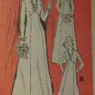 Vintage Annie Adams 4751 Pattern, Misses' Brides' or Bridesmaids' Dress, Size 14, Bust 36, Uncut