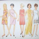 Vintage Butterick 4644 Pattern, Misses One Seam Dress, Size 12, Bust 32, UNCUT