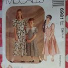 OOP McCall's 6981 Special Moments Dress Pattern, Sz 7 8 10, Uncut