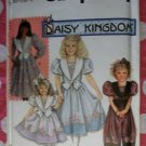 OOP Simplicity Pattern 7698 Daisy Kingdom Girls Dress or Romper, Sz 10-14, Uncut