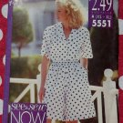 OOP Easy Butterick 5551 Shirt & Shorts Pattern, Sz 6 to 22, Uncut