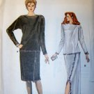 OOP Very Easy Vogue 8835 Sewing Pattern, Misses Dressy Top & Skirt, Sz 8, 10, 12, Uncut