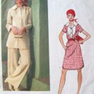 Vintage 1970s Vogue 2717 Paris Designer Original Christian Dior Pattern, Dress, Tunic & Pants, Sz 12