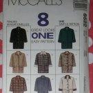 OOP Easy McCalls 8522 Misses Lined Jacket 8 Great Looks, Sz Sm 8/10, Uncut
