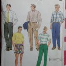 OOP Simplicity 7137 Pattern,  Mens Pants or Shorts Sz 28 to 34, Uncut