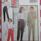 OOP Very Easy Butterick 5579 Misses Petite 3 Pieces Pants Pattern, Sz 12 14 16, Uncut