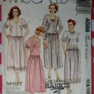 OOP Easy McCall's 4688 Sewing Pattern, 2 Piece Dress Cropped Top Skirt Sz 12 14 16, Uncut
