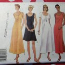 OOP Fast & Easy Butterick 3496 Pattern, Misses' Dress, Sz 14,16,18, Uncut