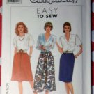 OOP Easy Simplicity 9600 Misses Skirts Pattern,  Sz 6 to 14, UNCUT