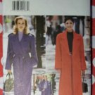 OOP Butterick 4666 Sewing Pattern Misses Coat, Belt & Pants Sz 12 14 16, Uncut