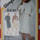Vintage simplicity 9928 Pattern, Misses Suit with Lined Jacket & Blouse, Sz 12, Uncut