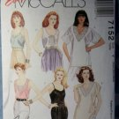 OOP Easy McCalls 7152 Camisole Tunic Tops Pattern, Size 4 6 8 10 12 14, UNCUT