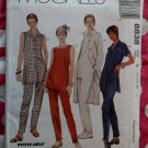 OOP McCall 8838 Pattern, Misses or Petite Shirt Top Pants, Sz 12 14 16, UNCUT