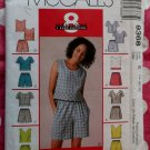 OOP Easy McCall's 9368 Patttern, Misses Tops, Shorts or Skort Sets Sz 14 16 18, Bust 36 to 40, UNCUT