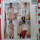 OOP Easy McCalls P276 Misses' Skirt, Pants, and Shorts Pattern, Size 8 10 12, UNCUT