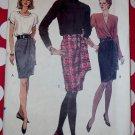 OOP Very Easy Vogue 7950 Misses Skirt Pattern, Sz 8 10 12, Uncut