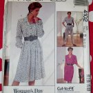 Vintage McCalls 4102 Misses Dress and Jumpsuit Pattern, Sz 8 10 12, Uncut