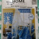 OOP McCalls 3038 Baby Room Essentials Pattern, Uncut