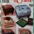 OOP Simplicity Crafts Sewing Pattern 9448, Ottoman Game Boards, Uncut