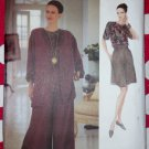 Vintage Vogue 8706 Misses Jacket, Top, Shorts & Pants Pattern, Sz 8 10 12, Uncut