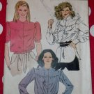Vintage Vogue 7917 Misses' Blouse Pattern, Size 14, Uncut