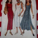 OOP Easy Vogue 8627 Misses', Misses Petite Fitted Dress Pattern, Size 6 8 10, Uncut