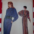 Vintage Very Easy Vogue 8484 Dress Pattern, Size 6 8 10 12 14, Uncut