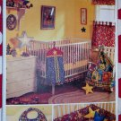 OOP Butterick 6964 Baby Room Accessories Pattern, Uncut