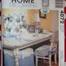 OOP McCall's 4072 Home Office Desk Accessories Pattern, Uncut