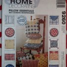 McCall's Craft 9260 Pillow Essentials Pattern, Uncut