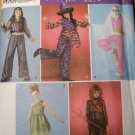 OOP Simplicity 4009 Pattern, Girls Hippie, Witch, Harem, Devil & Fairy, Girls Sz 7 to14, UNCUT