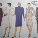 Vintage 70s Vogue 1245 Basic Besign Misses Dress or Gown Pattern, Size 14, 16, 18, Uncut