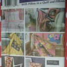 OOP Simplicity 5206 Fleece Blankets, Pillow in a Quilt & Pillow, Uncut