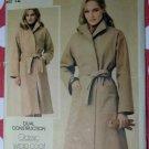 Butterick 3925  Classic Wrap Coat Pattern, Size 12, UNCUT
