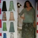 Simplicity 4706  Skirt Pattern,  Khaliah Ali Collection Design Your Own,  Sz 18W to 24W, Uncut
