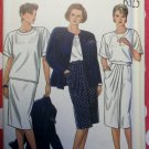 OOP New Look 6325 Misses Jacket, Skirt and Top, Sz 8 to 16, Uncut