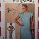 Vintage Simplicity 6828 Misses Dress Pattern, Size 10