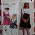 Simplicity 7588 Girls Gunne Sax Dress Pattern, Sz 12 14, Uncut  Missing Instructions