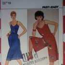 Vintage 70s Easy Butterick 4393 Dress & Culotte  Dress Pattern, Size 10, Bust 32 1/2, Uncut