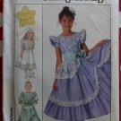 OOP Simplicity 8520 Girls Made in Heaven Design Dress Pattern, Sz 14, Uncut