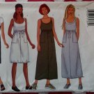 Easy Butterick 6528 Misses or Petite Dress & Scarf Pattern, Plus Size 18, 20 22, Uncut