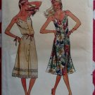 Vintage Butterick 3169 Misses Summer  Dress Pattern, Size 10, Uncut